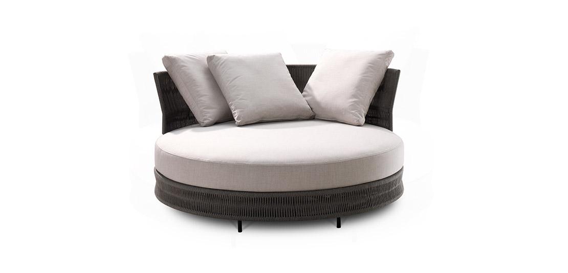 Delta Outdoor III Circle Sofa